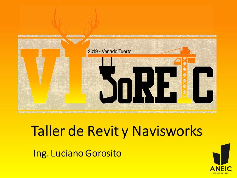Joreic VI UTN FRVT Taller Revit y Navisworks