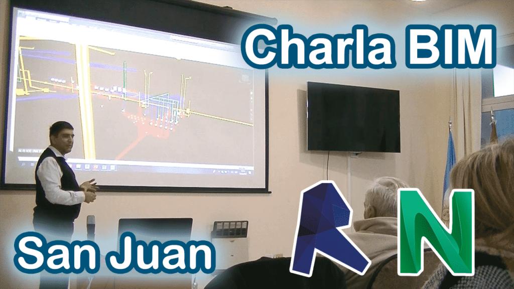Camarco San Juan: Charla BIM
