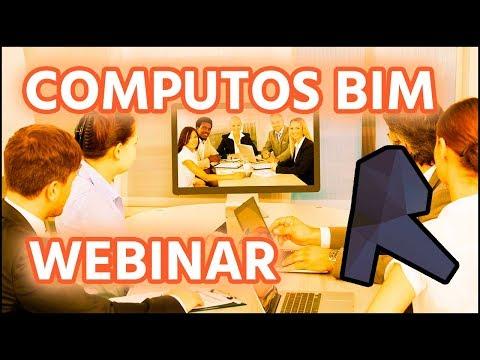 Webinar Lograr un Computo Metrico en entorno BIM