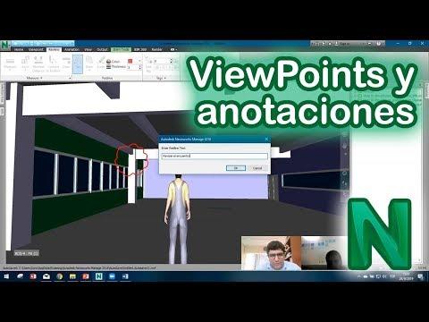 Navisworks ViewPoints y anotaciones del modelo