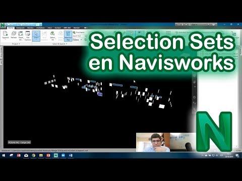 Navisworks: crear Selection Sets