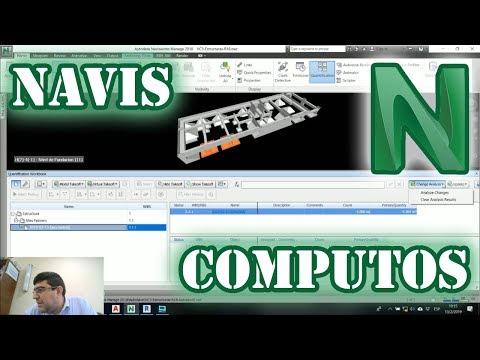 Quantifications con Navisworks